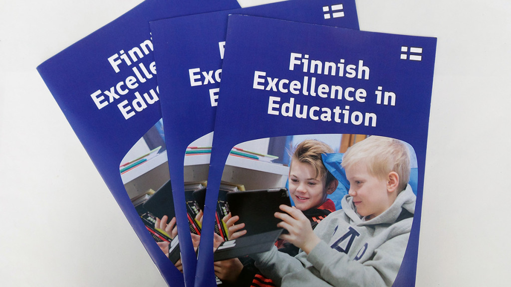 Publications. Client: Finpro - Education Export Finland brochure